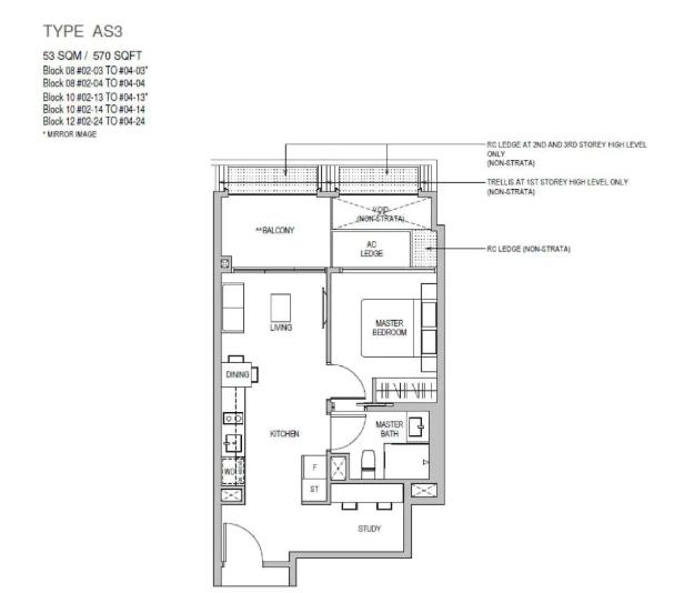 Floor Plan Mayfair Gardens Located